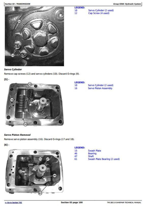 Second Additional product image for - John Deere 318E, 319E, 320E, 323E Skid Steer & Compact Track Loaders (EH) Repair Manual (TM13011X19)