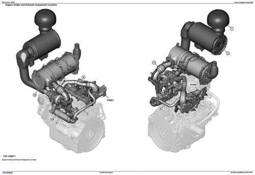 Fourth Additional product image for - John Deere 326E (SN.J247388-) Skid Steer Loader (EH Controls) Diagnostic Service Manual (TM13043X19)