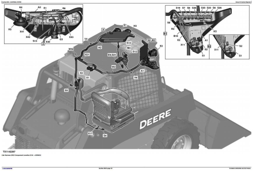 Fourth Additional product image for - John Deere 318E, 320E Skid Steer Loader with Manual Controls Diagnostic Service Manual (TM13084X19)