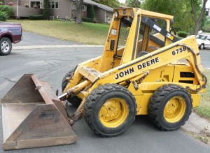 john deere skid steer loader type 675, 675b diagnostic and repair technical service manual (tm1374)