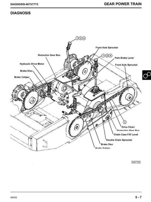 Second Additional product image for - John Deere 4475, 5575, 6675, 7775 Skid Steer Loader All Inclusive Technical Service Manual (TM1553)