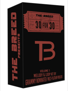 "the breed ""30 for 30"" melody loop kit"