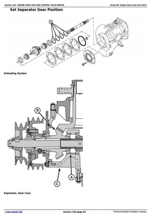 Fourth Additional product image for - John Deere 9570 STS, 9670 STS, 9770 STS and 9870 STS Combines Service Repair Manual (TM101919)