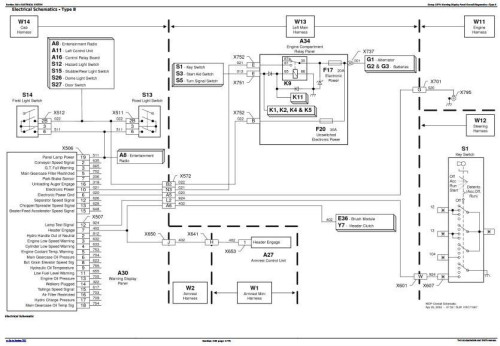 Fourth Additional product image for - John Deere 9650STS (SN.695501-) , 9750STS (SN.695601-) Diagnostic and Tests Service Manual (TM2102)