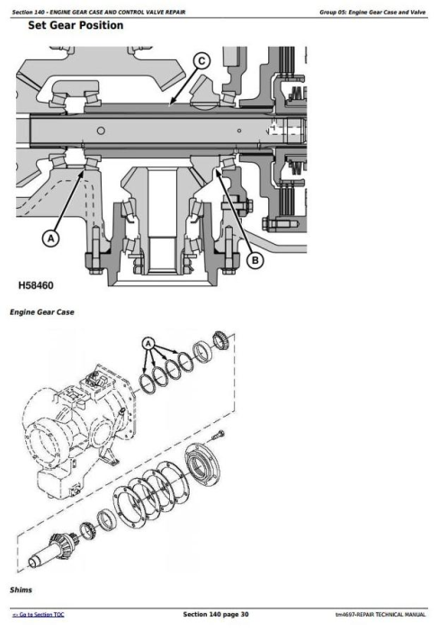 Fourth Additional product image for - John Deere 9540, 9560, 9580, 9640, 9660, 9680 CWS/WTS Combine Service RepairTechnical Manual (tm4697)