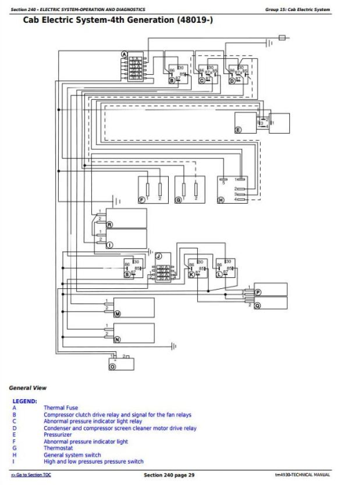 Third Additional product image for - John Deere 1165, 1175 Combines (5.9L, 6.8L) , Diagnostic and Repair Technical Service Manual (tm4930)