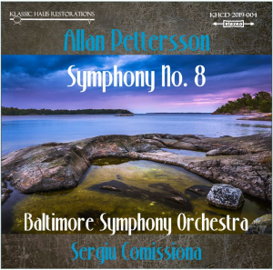 allan pettersson - symphony no. 8 - baltimore symphony orchestra - sergiu comissiona