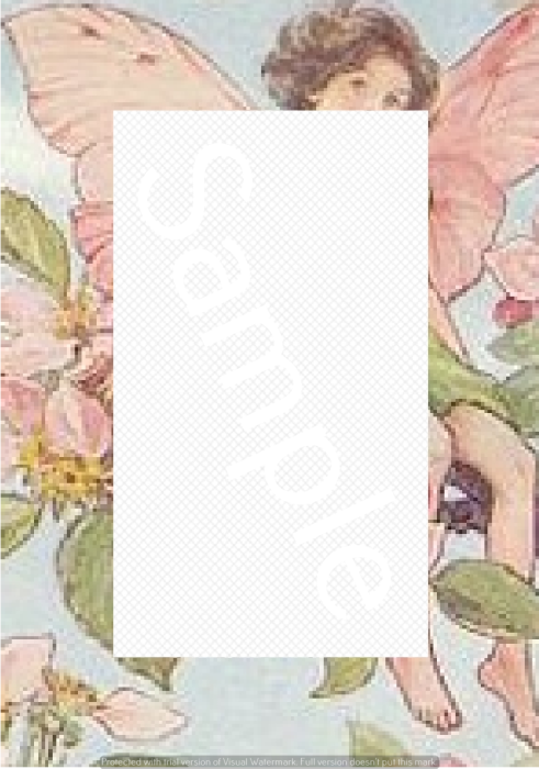 Fourth Additional product image for - Apple Blossom - Craft papers for cardmaking and scrapbooking.