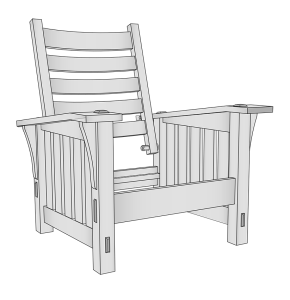 G. Stickley 369 Morris Chair Plans | Other Files | Everything Else