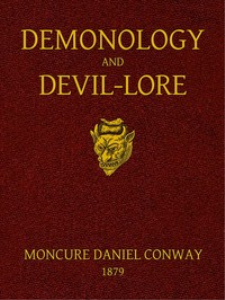 demonology and devil-lore by moncure daniel conway - digital book