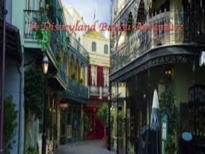 A Disneyland Bayou Adventure | Crafting | Knitting | Other