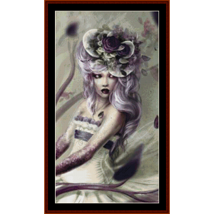 Poisoned Lullaby - Fantasy cross stitch pattern by Cross Stitch Collectibles | Crafting | Cross-Stitch | Other