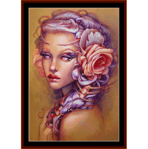 Traditional Lithium - Fantasy cross stitch pattern by Cross Stitch Collectibles | Crafting | Cross-Stitch | Other