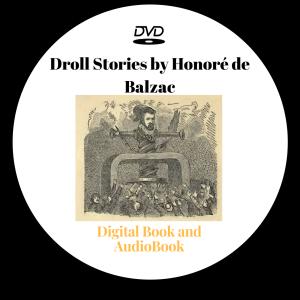 droll stories by honoré de balzac - audio book + digital book
