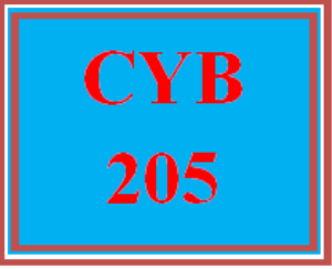CYB 205 Entire Course | eBooks | Education
