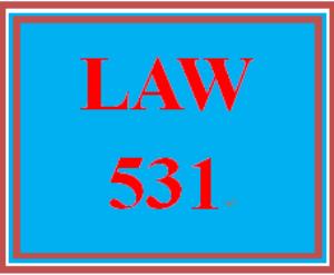 LAW 531 Week 1 Practice: Alternative Dispute Resolution | eBooks | Education