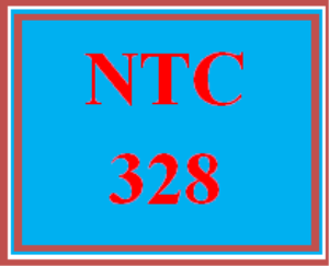 NTC 328 Entire Course | eBooks | Education
