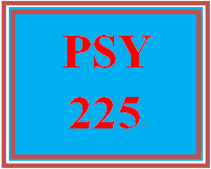 psy 225 entire course