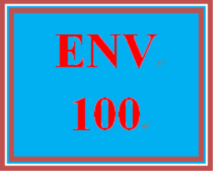ENV 100 Entire Course | eBooks | Education