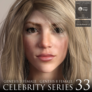 celebrity series 33 for genesis 3 and genesis 8 female