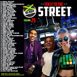 dj roy tek it to the street dancehall mix vol.25