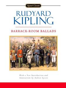 rudyard kipling - barrack-room ballads