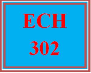 ech 302 week 5 iep or ifsp outline