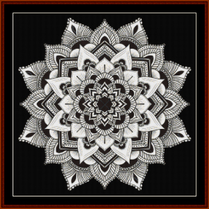 Mandala 3 cross stitch pattern by Cross Stitch Collectibles | Crafting | Cross-Stitch | Other