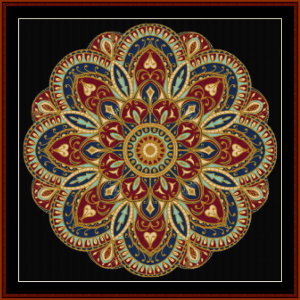Mandala 4 cross stitch pattern by Cross Stitch Collectibles | Crafting | Cross-Stitch | Other