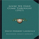 Look! We Have Come Through! | eBooks | Poetry