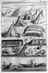 Inuit dwelling on Greenland, Hans Egede, 1741 | Photos and Images | Travel