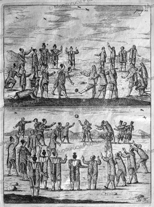 Inuit playing ball games on Greenland, Hans Egede, 1741 | Photos and Images | Travel