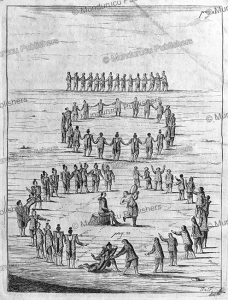 Inuit singing and dancing duels on Greenland, Hans Egede, 1741 | Photos and Images | Travel