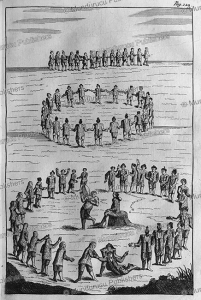 Inuit singing and dancing duels, Greenland, Dutch version, Hans Egede, 1741 | Photos and Images | Travel