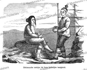 Eskimo girls, Hemann Wagner, 1862 | Photos and Images | Travel