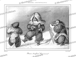 Eskimo children dancing, Vernier, 1837 | Photos and Images | Travel