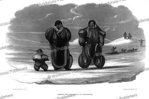 Family of Eskimaux at Igloolik, Captain G.F. Lyon, 1824 | Photos and Images | Travel