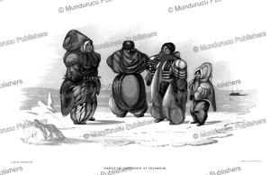 Group of Eskimaux at Igloolik, Captain G.F. Lyon, 1824 | Photos and Images | Travel