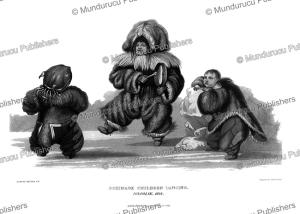 Eskimo children dancing, Igloolik, Captain G.F. Lyon, 1824 | Photos and Images | Travel