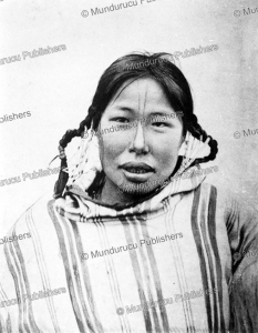 Eskimo girl with chin tattoo, Waldermar Bogoras, 1904 | Photos and Images | Travel