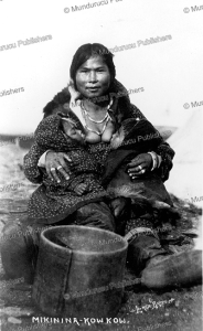 Eskimo woman Mikinina kowkow nursing two babies, Lomen Brothers, 1905 | Photos and Images | Travel