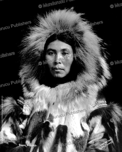 Inuit woman from Alaska with chin tattoo, F. H. Howell, 1908 | Photos and Images | Travel