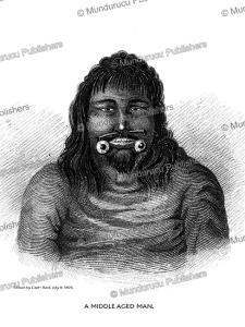 Middle age esquimaux man, west of the Mackenzie, Alaska, George Back, 1828 | Photos and Images | Travel
