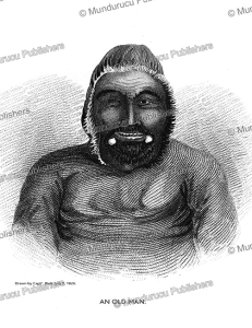 Old esquimaux man, west of the Mackenzie, Alaska, George Back, 1828 | Photos and Images | Travel