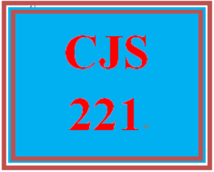 cjs 221 week 1 race, discrimination, and disparity