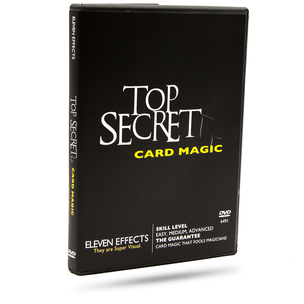 Third Additional product image for - Top Secret Card Magic