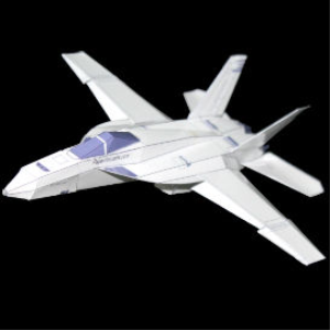 Paper F-18E White | Crafting | Paper Crafting | Other