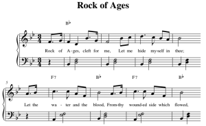 Rock of Ages Sheet Music | Music | Gospel and Spiritual