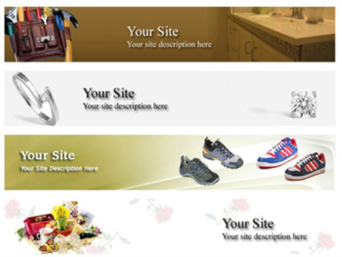 Second Additional product image for - 20 Niche Website Headers