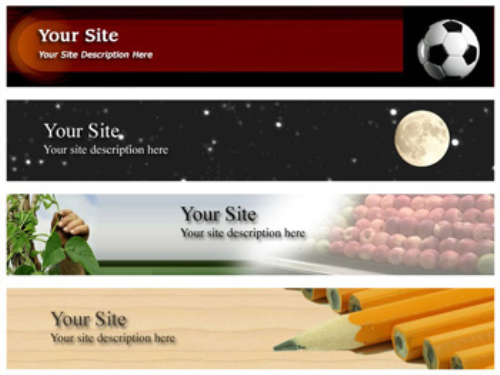 Third Additional product image for - 20 Niche Website Headers